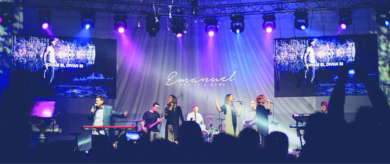 Konzert der Gruppe Emanuel